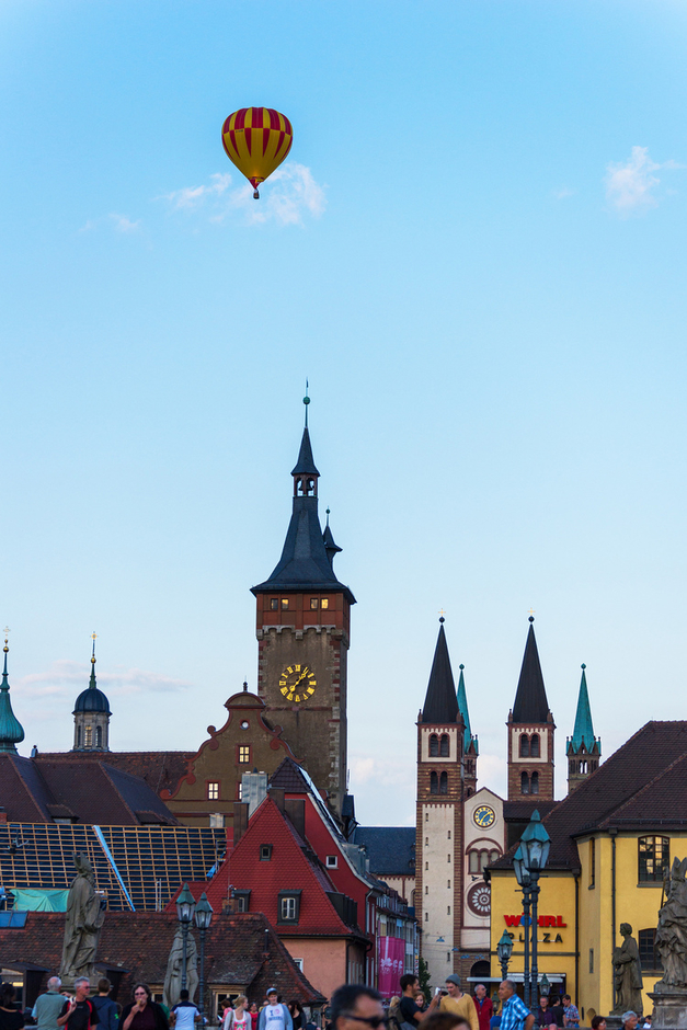 Flight over Wurzburg | SONY 70-300MM F/4.5-5.6 G SSM <br> Click image for more details, Click <b>X</b> on top right of image to close