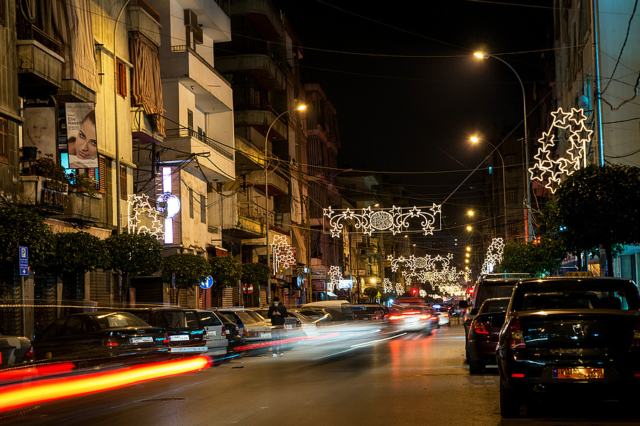 Night Lights in Beirut | SONY 28-75MM F/2.8 SAM <br> Click image for more details, Click <b>X</b> on top right of image to close