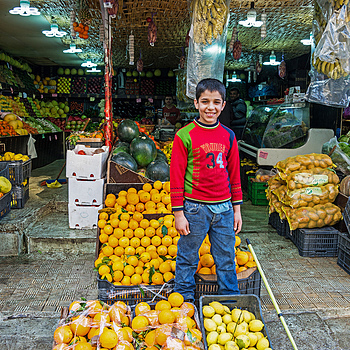 Fruit Seller | SONY 28-75MM F/2.8 SAM <br> Click image for more details, Click <b>X</b> on top right of image to close