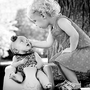 Loves Her Sister | FE 85MM F1.4 <br> Click image for more details, Click <b>X</b> on top right of image to close