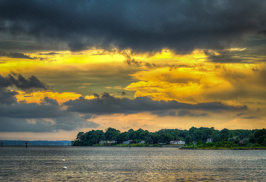 Rappahannock River Sunset | ZEISS FE 70-200MM F4 ZA <br> Click image for more details, Click <b>X</b> on top right of image to close