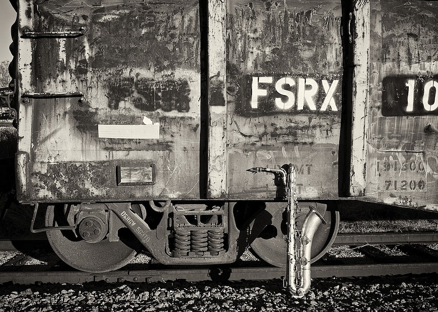 Conn Bari by Railroad Car | LENS MODEL NOT SET <br> Click image for more details, Click <b>X</b> on top right of image to close
