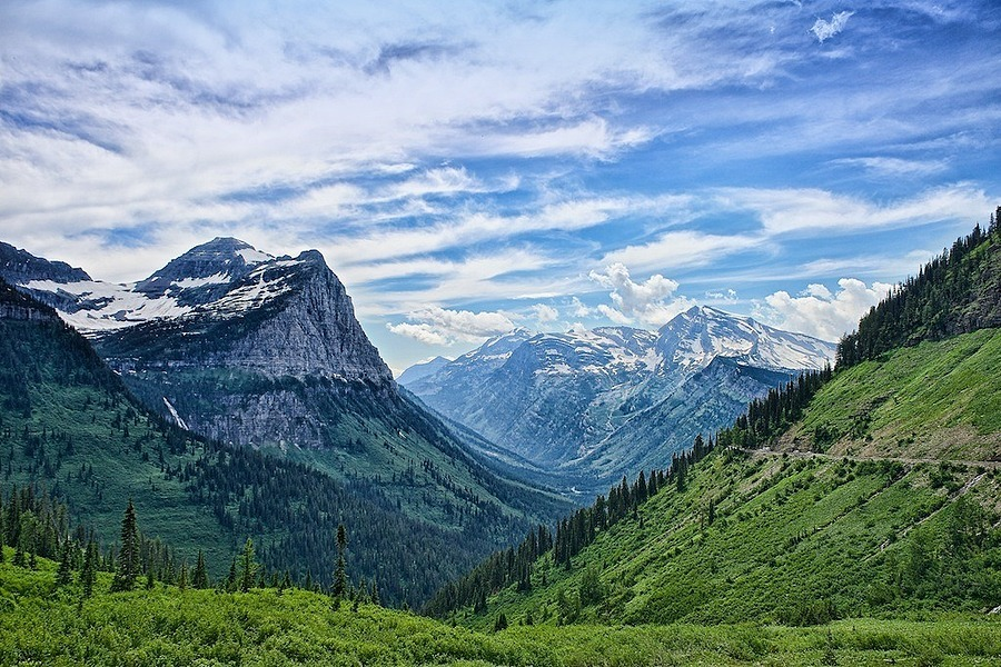 Glacier National Park | LENS MODEL NOT SET <br> Click image for more details, Click <b>X</b> on top right of image to close
