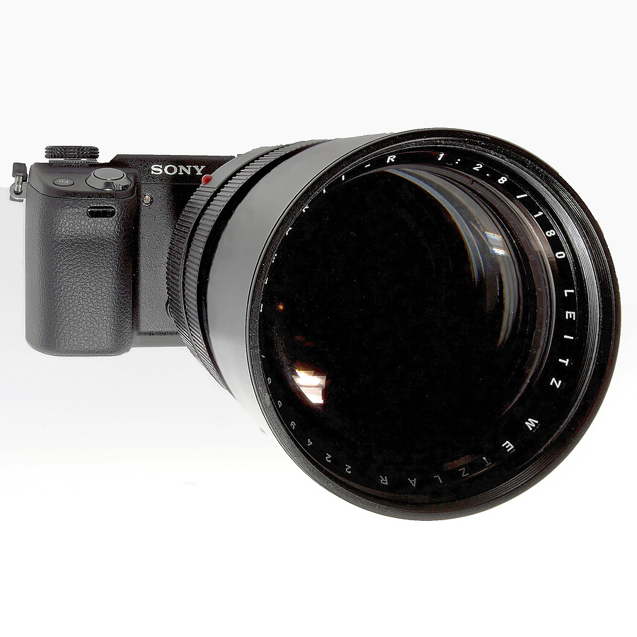 Sony NEX Elmarit R 180 | LENS MODEL NOT SET <br> Click image for more details, Click <b>X</b> on top right of image to close