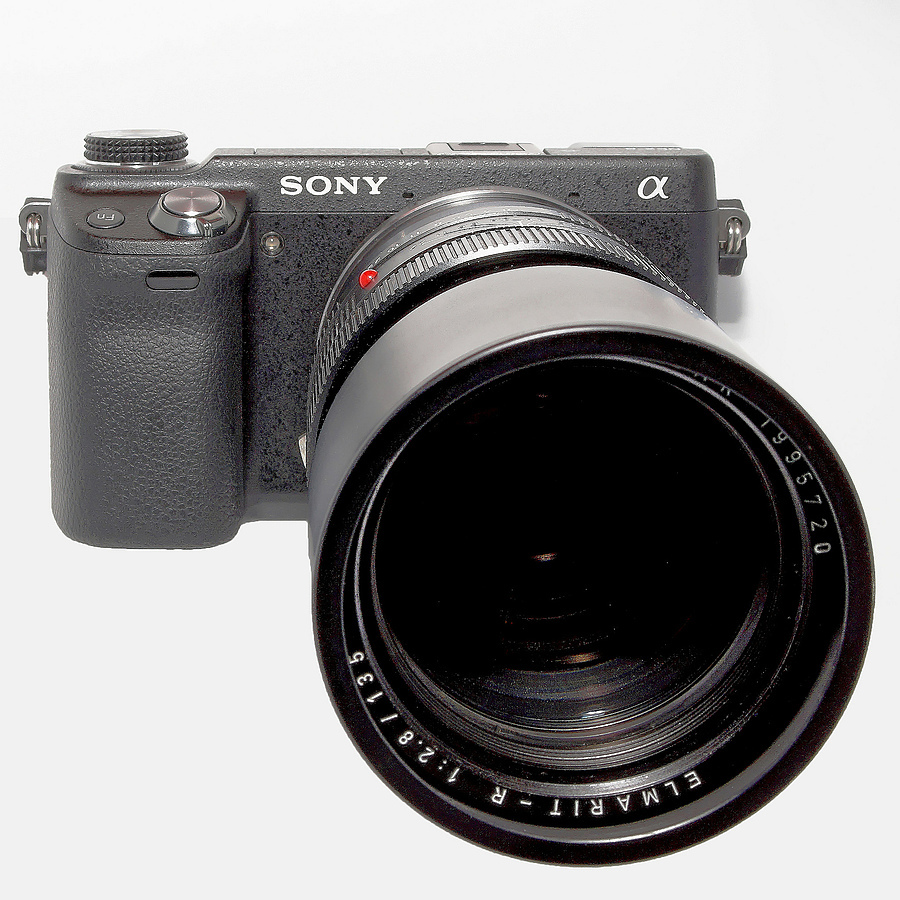 Sony NEX Elmarit R 135 | LENS MODEL NOT SET <br> Click image for more details, Click <b>X</b> on top right of image to close