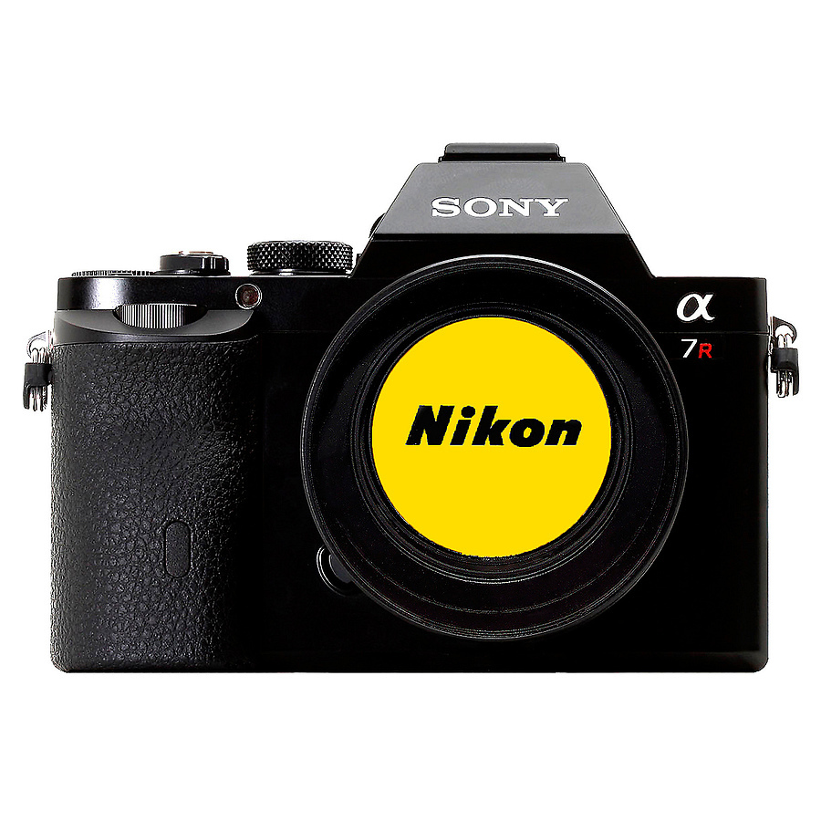 Sony A7r NIKON | LENS MODEL NOT SET <br> Click image for more details, Click <b>X</b> on top right of image to close
