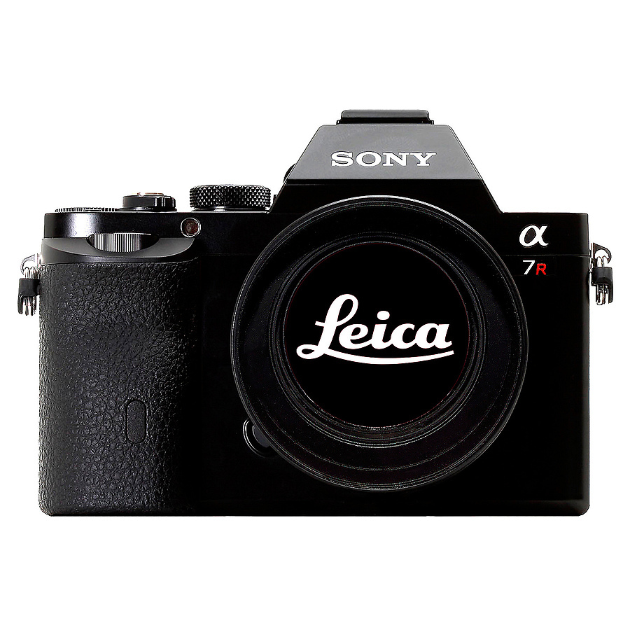 Sony A7r Leica Logo Noir | LENS MODEL NOT SET <br> Click image for more details, Click <b>X</b> on top right of image to close