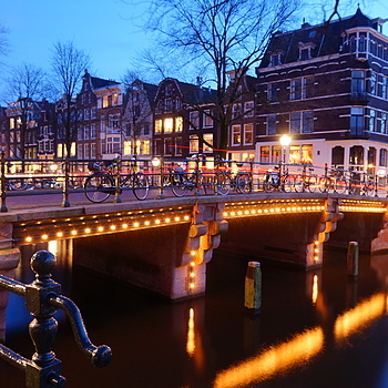 Amsterdam at night | LENS MODEL NOT SET