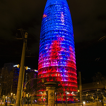 Barcelona - Acbar's tower | SONY DT 16-105MM F/3.5-5.6 <br> Click image for more details, Click <b>X</b> on top right of image to close