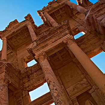 Ephesus Library | SONY DT 18-200MM F/3.5-6.3 <br> Click image for more details, Click <b>X</b> on top right of image to close