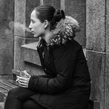Smoking outside | LEICA SUMMILUX 35MM F1.4 ASPH <br> Click image for more details, Click <b>X</b> on top right of image to close
