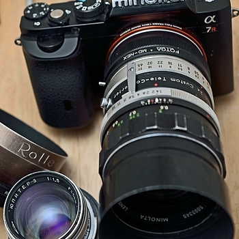116mm f2.8 TC'd Rokkor Ultralight Tele! | LENS MODEL NOT SET <br> Click image for more details, Click <b>X</b> on top right of image to close