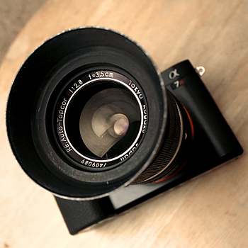 Tōkyō Kōgaku RE AUTO-TOPCOR f/2.8 3.5cm | LENS MODEL NOT SET <br> Click image for more details, Click <b>X</b> on top right of image to close