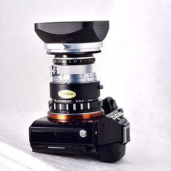 TELEMORE95 | LENS MODEL NOT SET