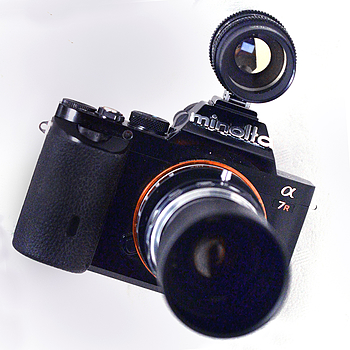 Leica M Mount Teleconverter with Viewfinder | LENS MODEL NOT SET