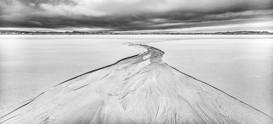 Beach Stream, Ross Sands | CV 15 MM / F 4,5 SUPER WIDE HELIAR <br> Click image for more details, Click <b>X</b> on top right of image to close