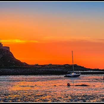 Photo: Lindisfarne Sunrise